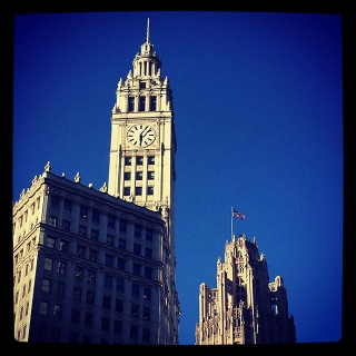 The Wrigley Building. 400-410 North Michigan Ave.